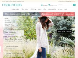 Maurices screenshot