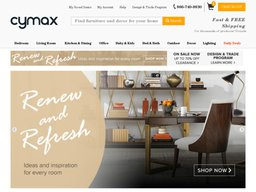 Cymax screenshot