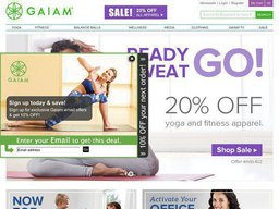 Gaiam screenshot