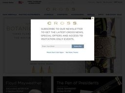 Cross screenshot