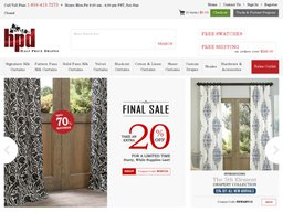 Half Price Drapes screenshot