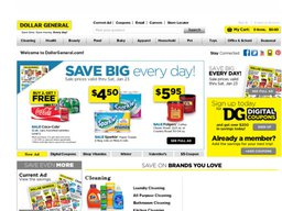 Dollar General screenshot