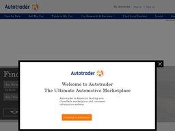 AutoTrader screenshot