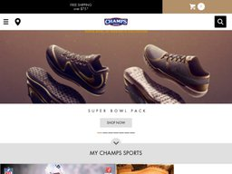 Champs Sports screenshot