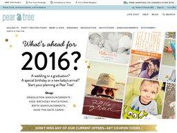 Pear Tree Greetings screenshot