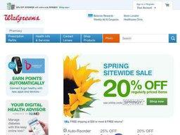 Walgreens screenshot
