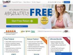 TaxACT screenshot
