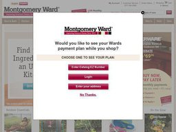 Montgomery Ward screenshot
