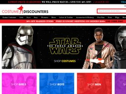 Costume Discounters screenshot