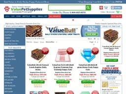 Value Pet Supplies screenshot