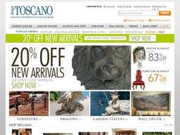 Design Toscano screenshot
