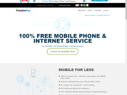 FreedomPop screenshot