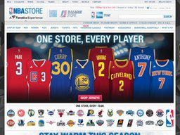 NBA Store screenshot