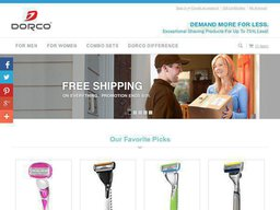 Dorco USA screenshot
