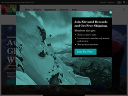 Mountain Hardwear screenshot