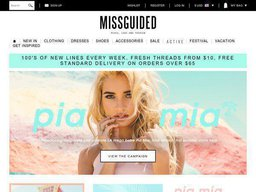 Missguided US screenshot