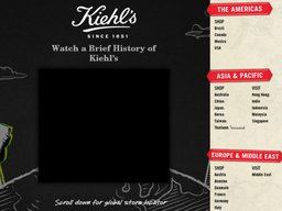 Kiehl's screenshot