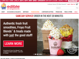Edible Arrangements screenshot