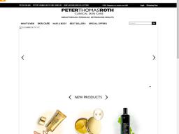 Peter Thomas Roth screenshot