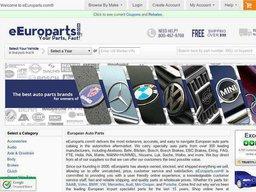 eEuroparts screenshot