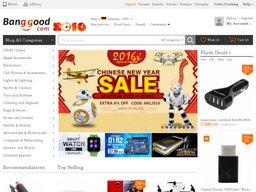 Banggood.com screenshot