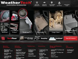 WeatherTech screenshot