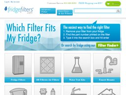 FridgeFilters.com screenshot