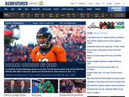 CBS Sports screenshot