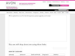 Avon screenshot