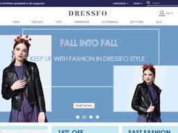 Dressfo screenshot