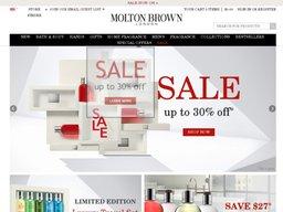Molton Brown screenshot