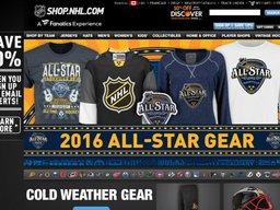 NHL Shop screenshot