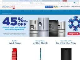 Sears Outlet screenshot