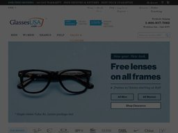 GlassesUSA screenshot