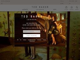 Ted Baker screenshot
