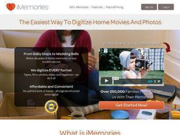 iMemories screenshot