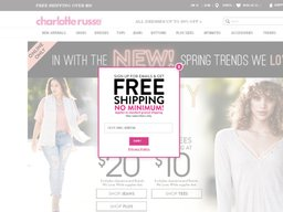 picture relating to Charlotte Russe Printable Coupons named Charlotte Russe Coupon codes : Typical discounted $9.34