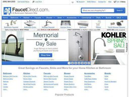 FaucetDirect screenshot