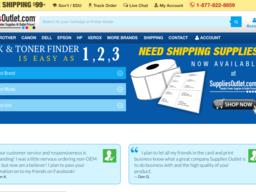 Supplies Outlet screenshot