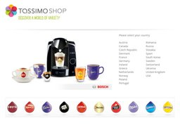 Tassimo screenshot