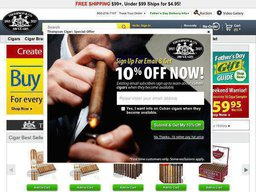 Thompson Cigar screenshot