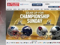 NFL Shop screenshot