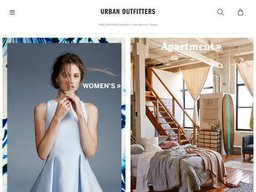 Urban Outfitters screenshot