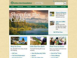 Arbor Day Foundation screenshot