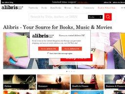 Alibris screenshot