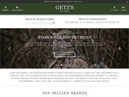 Getzs screenshot