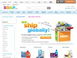 Soap.com screenshot
