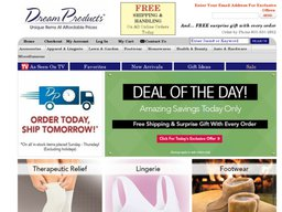 Dream Products screenshot