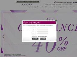 Bakers Shoes screenshot