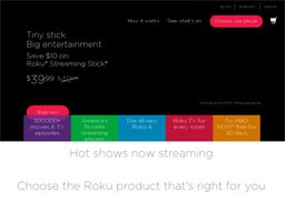 Roku screenshot